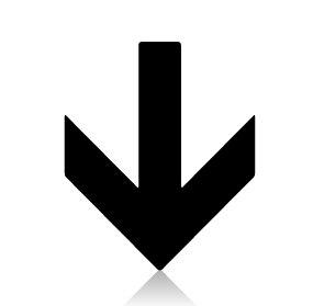下 ↓ した 矢印